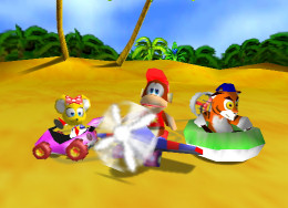 Diddy Kong Racing World (DKR World)